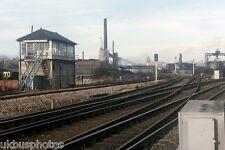 Wath Road junction & Signal Box South Yorks Rail Photo