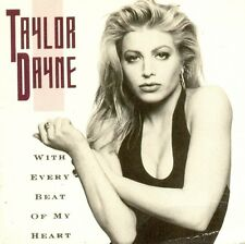 TAYLOR DAYNE - With every beat of my heart 2TR 3-inch CDS 1989 SYNTH-POP RARE!