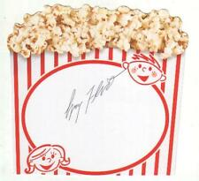 Larry Flynt Autographed Novelty Popcorn Card Founder of Hustler Magazine