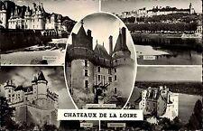 Chateaux de LOIRE CPA France 5x Schösser Loire Mehrbild Ansichtskarte Schloss