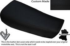 BLACK STITCH CUSTOM FITS HUSQVARNA CR 250 430 500 1983 ALLY TANK LTHR SEAT COVER