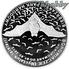 Polonia 2011 coins 10 Miedz. Nietoperz Bat Animals Tiere Butterfly Bison nsod