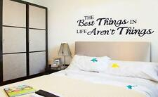 Best things English sentence Home Decor Removable Wall Sticker/Decal/Decoration