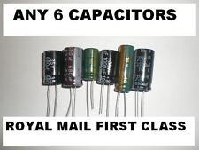 Cualquier valor condensadores 6 1000uf 2200uf 3300uf 1500uf 680uf 470uf 16 V 25 V 35 V 63 V