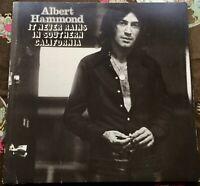 Albert Hammond IT NEVER RAINS IN SOUTHERN CALIFORNIA LP 1972 Mum Records B1/A2