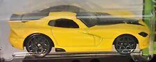Hot Wheels 2014 HW Workshop 2013 SRT Viper Yellow Dodge Mopar 1:64 BFD76