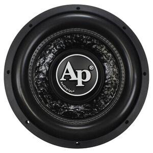 "Audiopipe Txx-Fa1200 Shallow 12"" Subwoofer Dvc 4 Ohm 800 Watts Max"
