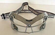 Women's Cascade Lacrosse Field Hockey Goggles Eye Mask Guard Cage_Girls_Silver