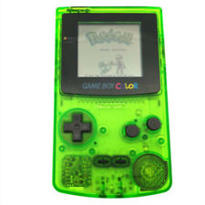 Clear Green Refurbished Nintendo Game Boy Color GBC Game Console + Game Card