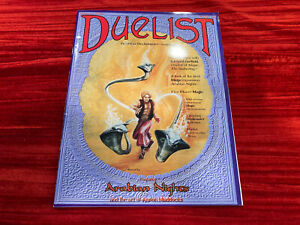 The Duelist Magazine Issue #1   Wizards of the Coast  RARE Nice copy!