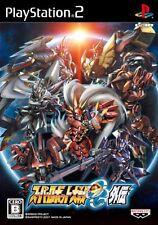 Used PS2 Super Robot Taisen Wars OG Original Generation Gaiden Japan Import
