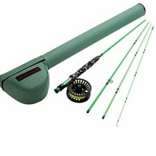 Redington Minnow Outfit 8' 5 Wt 4 Pc Fly Rod, Reel, Line, Leader, Case