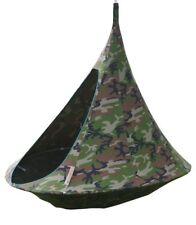 Camouflage Cacoon Double Hängezelt für mehrere Kinder oder 2 erwachsene