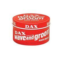 Dax Wax Wave and Groom rot 99g Original USA Pomade Haarwachs Haarwax