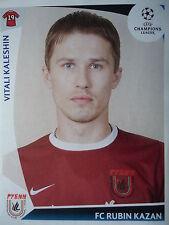 Panini 401 Vitali Kaleshin Rubin Kazan UEFA CL 2009/10