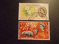 GB 1963 Commemorative Stamps~Nature~Fine Used Set~UK Seller