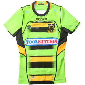 Northampton Saints Away Mens on Field Rugby Jersey with GPS Pocket Tight Fit