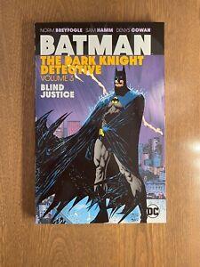 NEW! Batman: The Dark Knight Detective - Vol. 3 - DC Rare OOP TPB