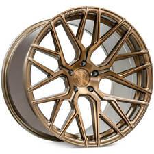 "4ea 19"" Rohana Wheels RFX10 Brushed Bronze Rims (S4)"