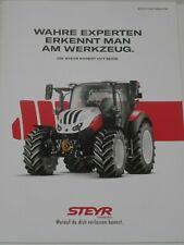 STEYR EXPERT CVT SERIE Traktoren Prospekt von 11/2019 ( 641 )