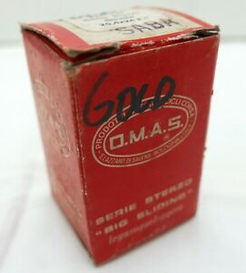 O.M.A.S. SABA Headset - Gold, Boxed, NOS, Perfect, for Road Bike