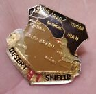 Vintage Collectible Pin: Desert Shield 91 Middle East