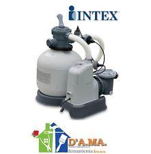 Pompa filtro a sabbia con clorinatore per piscine 6000 lt/h INTEX 28676 P