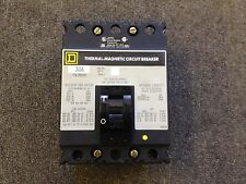 SQUARE D CIRCUIT BREAKER 30 AMP 600V 3 POLE FHL36030