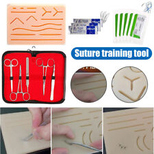 All-Inclusive Suture Practice Kits for Suture Training Human Skin Training Pads