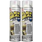 Flex Seal Rubber Sealant Clear Spray, 14oz 2-pack
