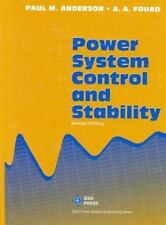Power System Control and Stability (IEEE Press Series on Power Engineering)