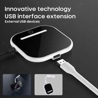 Fast Phone 10W Qi Wireless Charger Dock Night Lamp Light for iPhone 8 8 plus