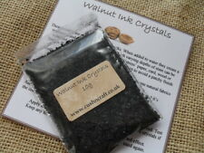 Natural Walnut Ink Crystals for Calligraphy, Distressing & Staining - 10g