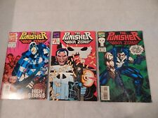 The Punisher War Zone Lot Of 3 Marvel Modern Age Comic Book Lot FN/VF