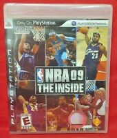 NBA Basketball 09 The Inside - PlayStation 3 PS3 Game New Factory XY Sealed