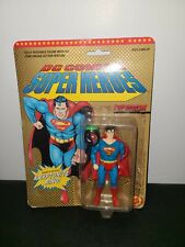 1980 DC COMICS SUPER HEROES SUPERMAN WITH KRYPTONITE RING TOYBIZ reseal