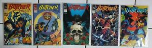 Butcher Mini Series 1 2 3 4 5 Complete Set~SIGNED Mike Baron~DC Comic Book Lot