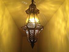 Deckenlampe Ballouta Gelb - Kunsthandwerk direkt aus Marokko