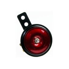 Hupe 6V ø70 für Simson S51 S70 SR50 Herkules Kreidler Zündapp - rot/schwarz