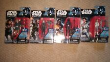 """Star Wars REBELS Rogue One 3.75"""" LEIA JYN ERSO CASSIAN ANDOR IMPERIAL GROUND"""