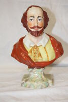 Circa 1800 Enoch Wood Bust of William Shakespeare; Mint Condition