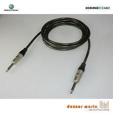 6m Gitarrenkabel SPIRIT XXL Sommer Cable Neutrik C Klinke 6,3 gerade-gerade