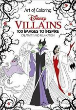 Art of Coloring: Disney Villains: 100 Images to Inspire Creativity and Relaxatio