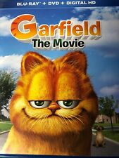 Garfield The Movie Blu Ray ONLY / MISSING DVD (No Digital) USED