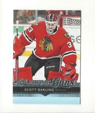 2014-15 Upper Deck #498 Scott Darling YG RC Rookie Blackhawks