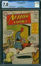 Action Comics 204 CGC 7.0 - OW/W Pages