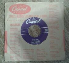 Vintage Helen O'Connell Crazy Heart/ Anytime - Capital Records 45 lp vg+