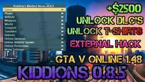 Gta5 Pc Mod Menu