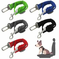 Elastic Pet Dog Cat Car Safety Seat Belt Leash Adjustable Nylon Seatbelt Strap
