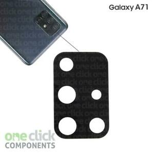 New Replacement REAL GLASS Rear Camera Lens with Adhesive for Samsung Galaxy A71